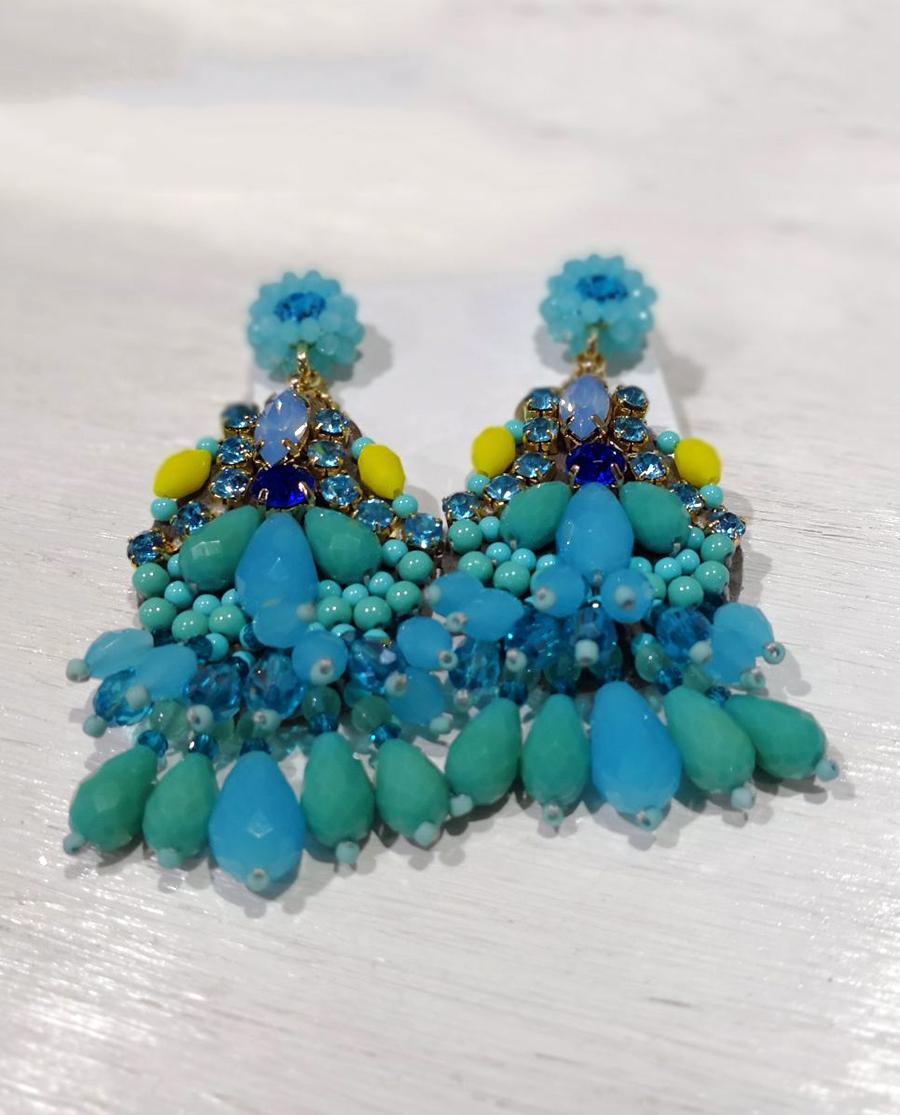 stili di moda trova fattura vendita limitata Sodini | Orecchini a perno pendenti turchesi